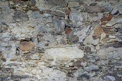 石头和砖墙Texure,捷克,欧洲 图库摄影