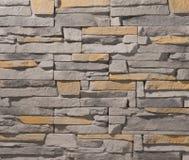 石头和砖石造壁 库存照片