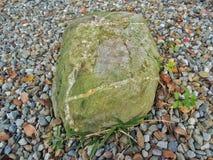石头在公园 免版税库存照片