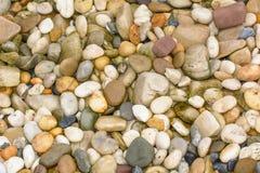 石头在庭院里 免版税库存图片