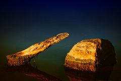 石头在河 图库摄影