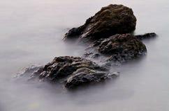 石头在水第一中 图库摄影