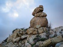 石头峭壁镀Da Dia & x28; Ghenh Da Dia& x29; 免版税图库摄影