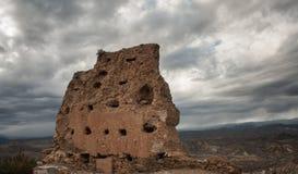 石头废墟 免版税库存照片