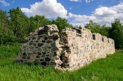 石头废墟 免版税库存图片