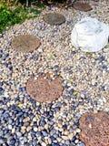 石头庭院 免版税库存图片