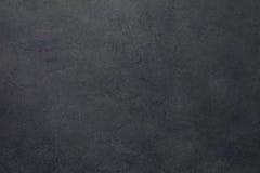 黑石头或板岩纹理背景 免版税库存图片