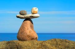 石头抵消  免版税库存图片