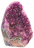 石紫晶 图库摄影