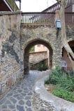石头曲拱的照片在老处所的 免版税图库摄影