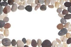 石头框架。 库存照片