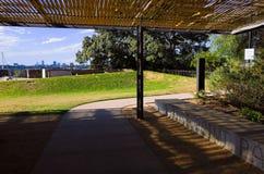 石碴点公园Birchgrove悉尼 免版税库存照片