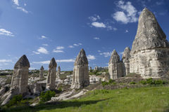 石头现象在卡帕多细亚Turkey_2 免版税库存图片