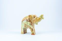 从石头的大象 免版税图库摄影