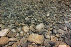 石头的底部 库存图片