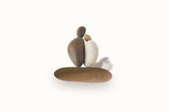石头的形状 免版税库存照片