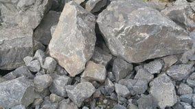 石头的美好的自然本底样式 免版税图库摄影