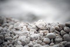 石头的背景 免版税库存照片