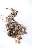从石头的路 免版税库存照片