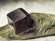 石榴石铁铝榴石 库存图片