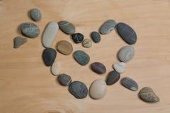 石头般的心 免版税库存图片