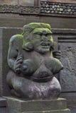 石头被雕刻的女性 库存照片