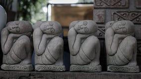 石头雕刻 库存照片