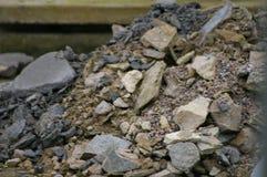 石头,石渣 库存图片