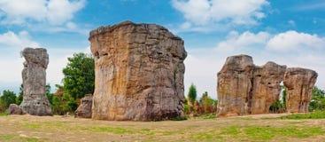 石henge在泰国亚洲 图库摄影