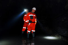 矿业工作者 免版税库存照片