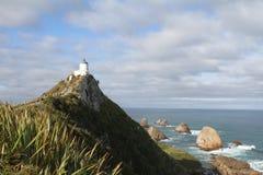 矿块点灯塔,南部的风景路线 免版税库存图片