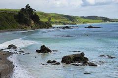 矿块点,南岛新西兰 图库摄影