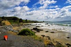 矿块点,南岛新西兰 库存图片