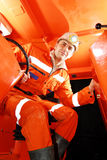 矿工工作 免版税图库摄影