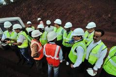 矿工程师 免版税库存照片