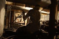 矿工 免版税库存图片