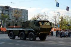 矿抗性埋伏保护了(MRAP)装甲车台风K 库存图片