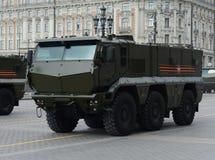 矿抗性埋伏保护了(MRAP)装甲车台风K 免版税图库摄影