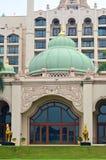 矿江边商业区的储蓄图象,马来西亚 库存照片