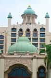 矿江边商业区,马来西亚 库存图片