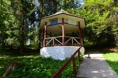 矿泉水春天第11从博尔塞克的裴多菲 免版税库存照片