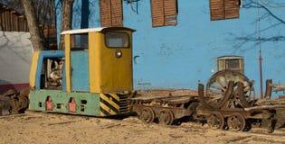 矿火车 库存照片