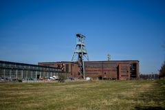 矿煤矿埃瓦尔德,黑尔滕,德国 免版税库存图片