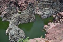 矿物岩石 库存照片