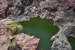 矿物岩石 免版税库存图片