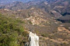 矿物春天-著名旅游目的地,瓦哈卡,墨西哥 免版税库存照片
