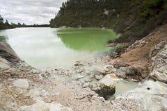 矿物池 免版税库存照片
