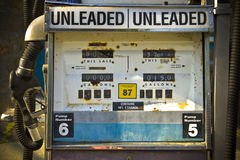 矿物燃料泵 库存照片