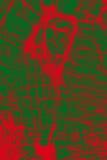 矿物的五颜六色,抽象样式在一台对立的微写器的 库存图片