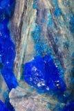 矿物的水晶 库存图片